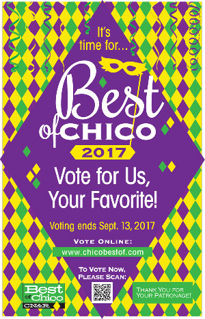 Vote for Red Tavern as Best in Chico for fine dining